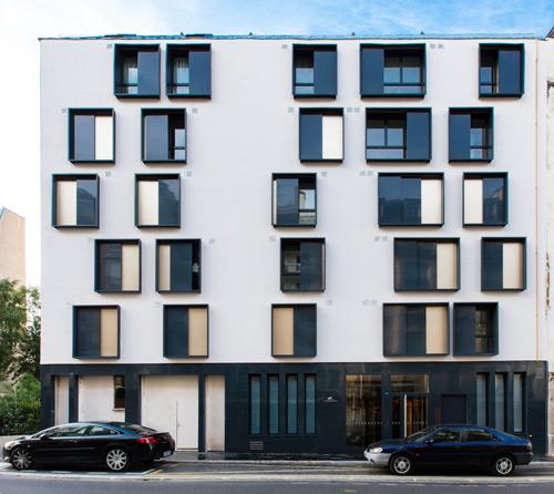 Immeuble rue de Charonne