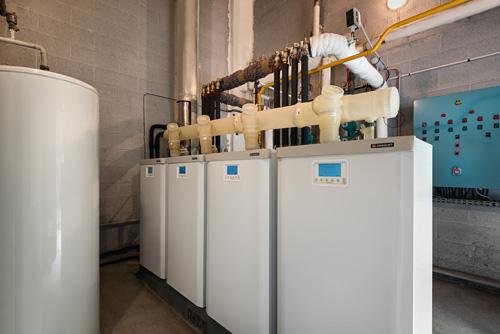 Chaufferie Condensation Visio® de 57 à 270 kW