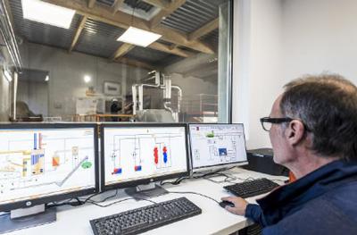 Pilotage et communication du réseau de chaleur