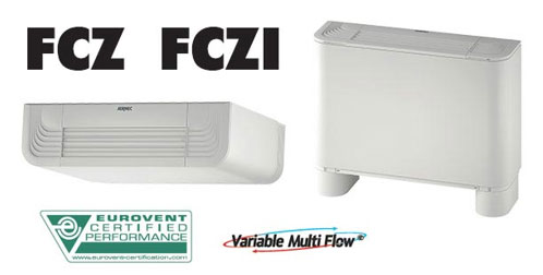 ventilo convecteurs FCZ FCZi Aermec