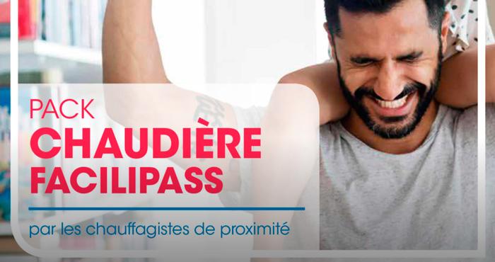 Pack Chaudière Facilipass Capeb Butagaz