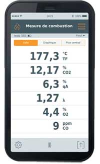 application testo 330i