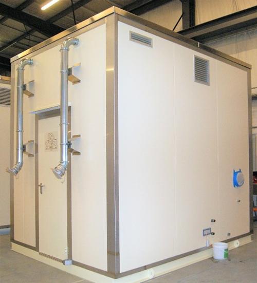 chaufferie REI120 cellule