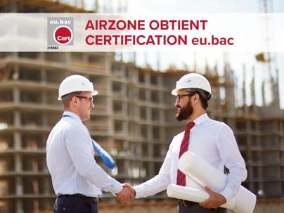 Certification européenne eu.bac pour Airzone