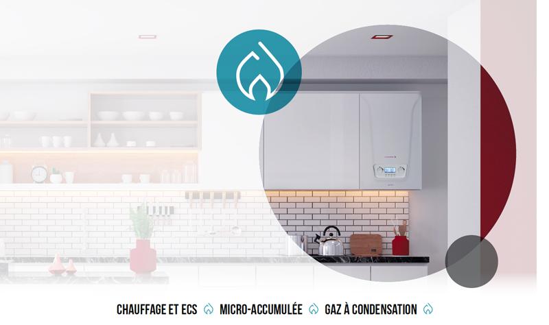 Chappee chaudière gaz condensation Accea