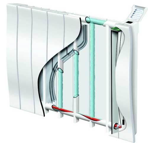 radiateur chaleur douce inertie pilotage intelligent galapagos. Black Bedroom Furniture Sets. Home Design Ideas