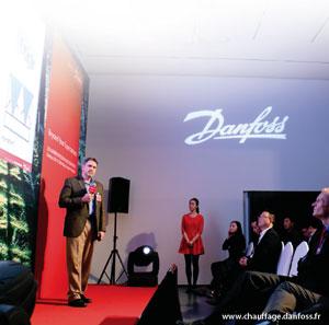 nouveau centre de formation pour Danfoss Chauffage