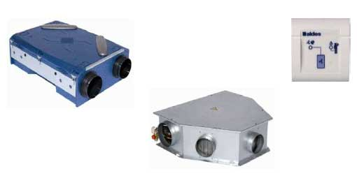 système double flux de ventilation et de chauffage innovant
