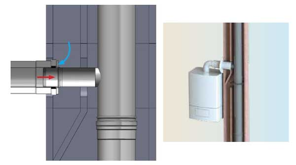 Dinagas 3 CE+ montage interieur