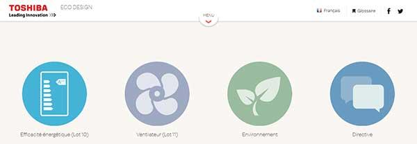 eco design toshiba