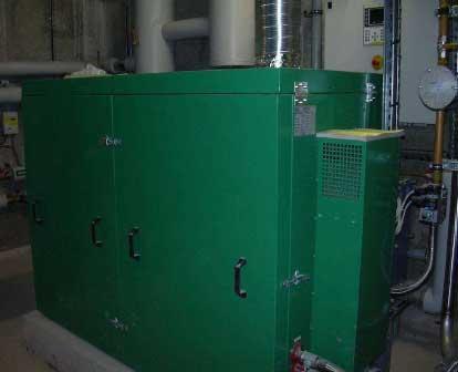 Production de chaleur par minicogénération