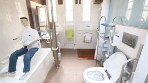 Maison adaptée au handicap