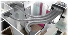 Installation en faux plafond
