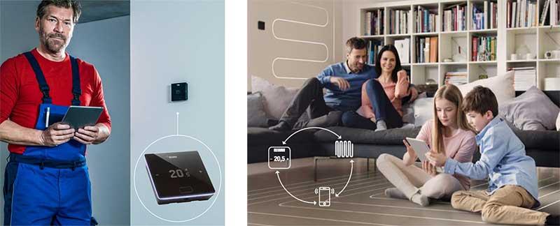 Thermostat intelligent chauffage
