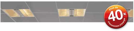 panneau rayonnement plafond