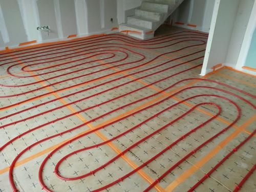 solutions Wavin de plancher chauffant basse température