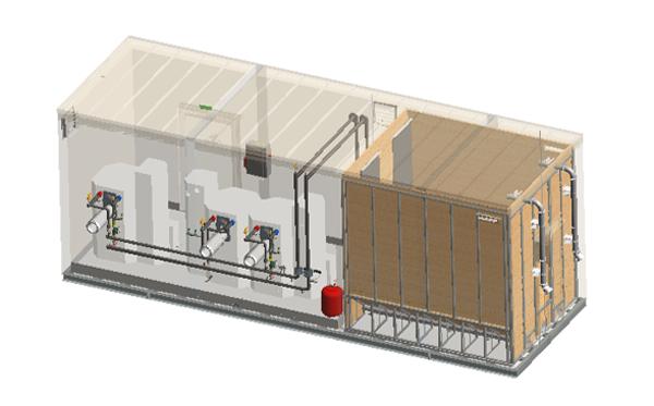 TIGR chaufferie container bois