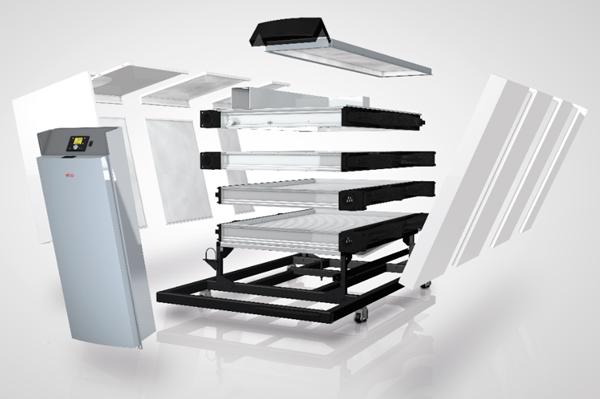 Construction modulaire TRIGON® XXL