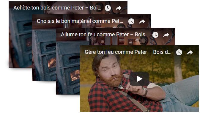 Les bonnes pratiques du chauffage au bois en quatre vidéos