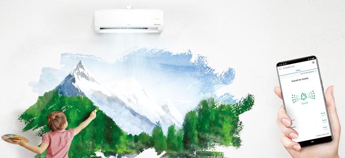 climatiseur connecté
