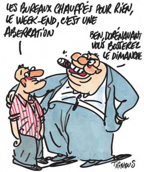 caricature tignous