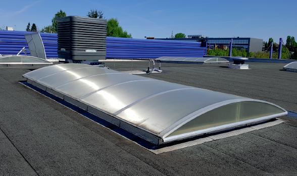 Rafraîchisseur d'air par évaporation en toiture