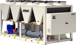 NSMI groupe eau glacée condensation Aermec