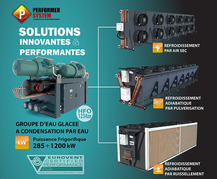 Aeroréfrigérant Performer System