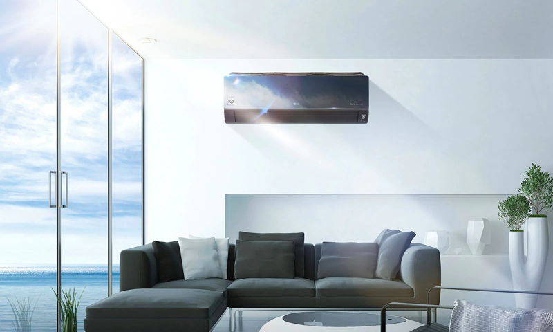 LG artcool mirror climatiseur mural