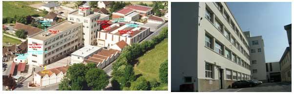 Vue aérienne du site de BBGR1 à Sézanne