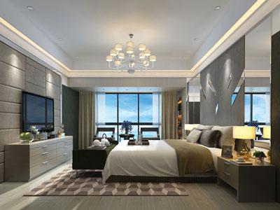 chambre d'hôtel équipée de la solution EasyVRF