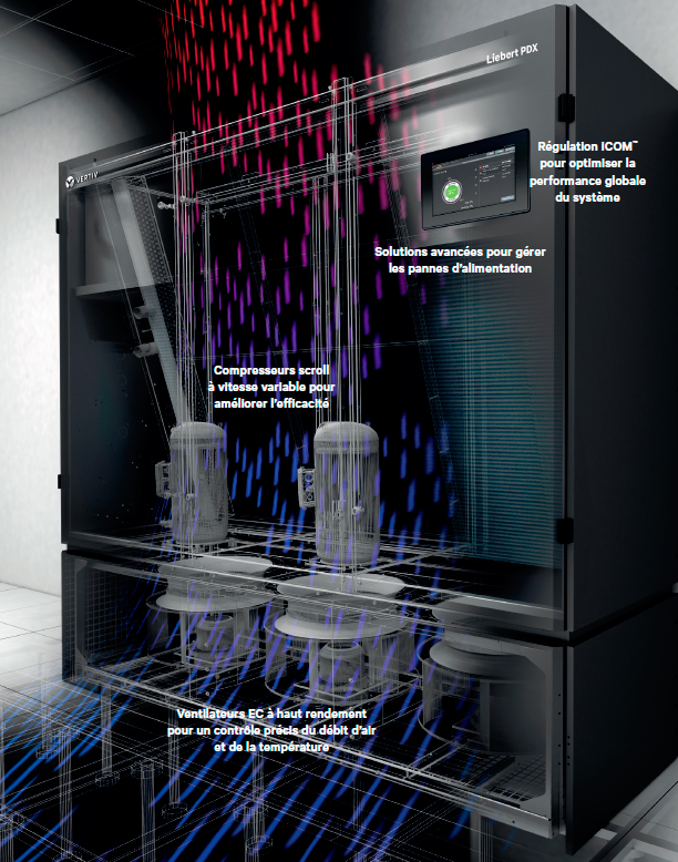 Description solution de refroidissement à détente directe