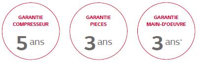garanties mini DRV