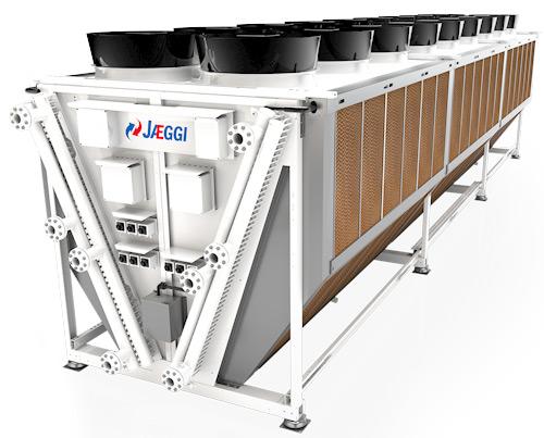 Refroidisseur sec Hybrid Blue® avec AxiTop Diffusor