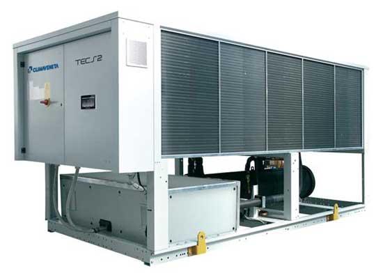 production eau glacée TECS