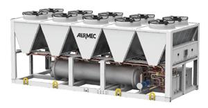 TBG groupe eau glacée condensation Aermec