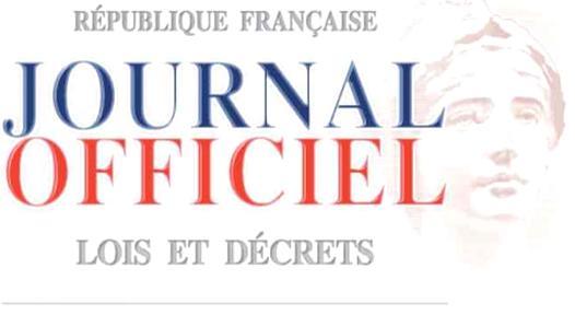 république française journal officiel