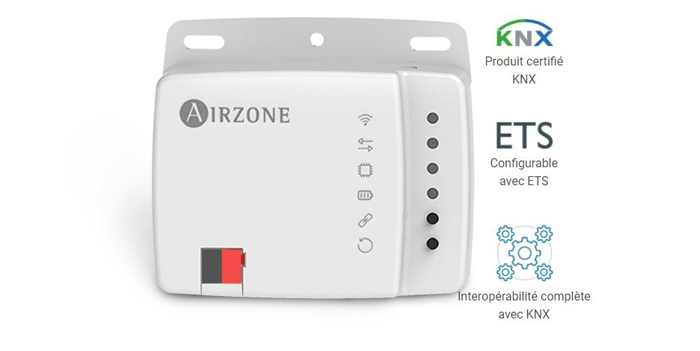 Airzone Aidoo KNX certification ETS
