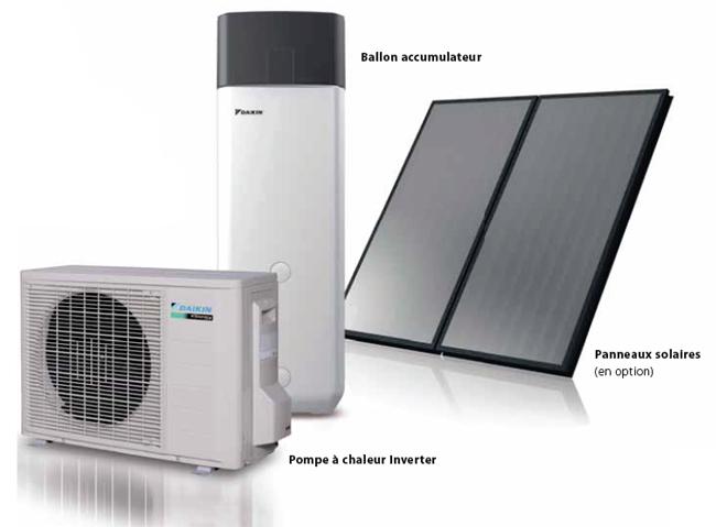 Chauffe eau thermodynamique hautes performances - Chauffe eau thermodynamique solaire prix ...