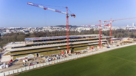 nouvel Hippodrome Paris Longchamp