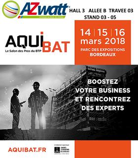 AZWATT au salon Aquibat de Bordeaux