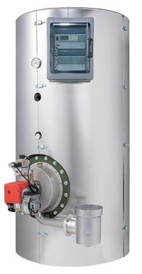 ECS gaz condensation Charot