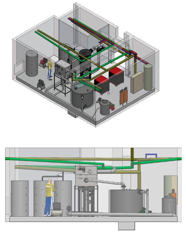 Exemple d'implantation tridimensionnelle  du système PAC Facteur 7®