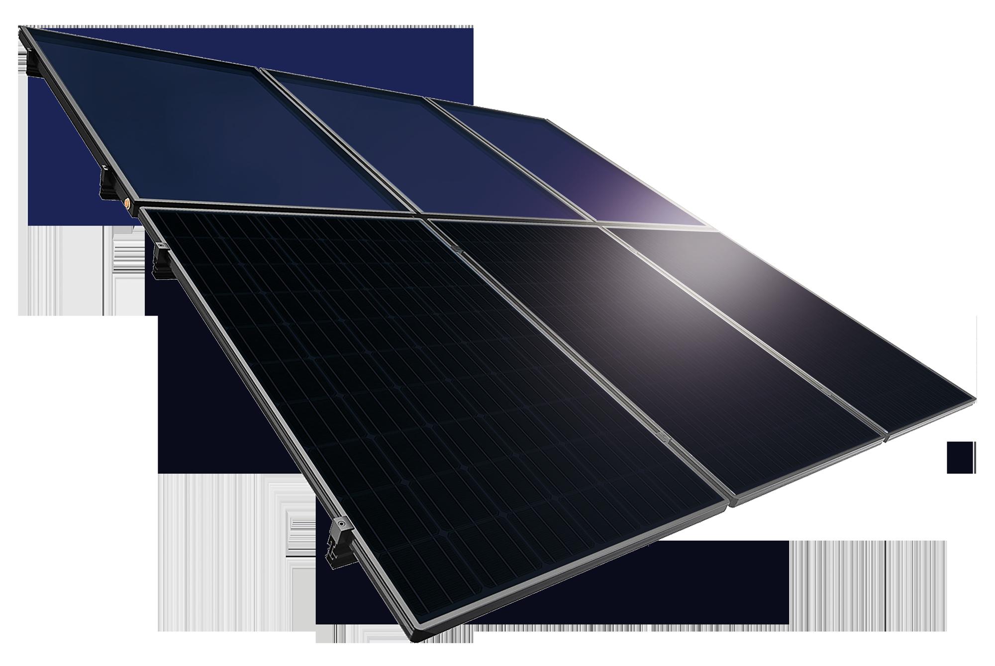 Toiture solaire énergétique hybride TWIN