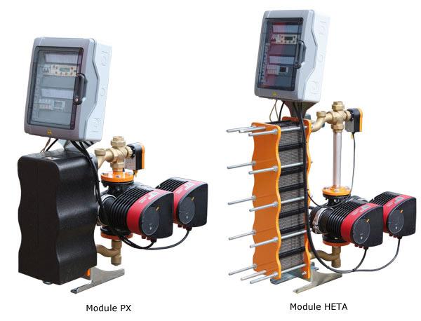module PX et HETA
