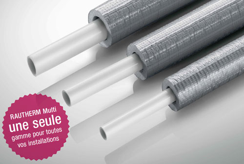 tube multicouche RAUTHERM Multi isolé