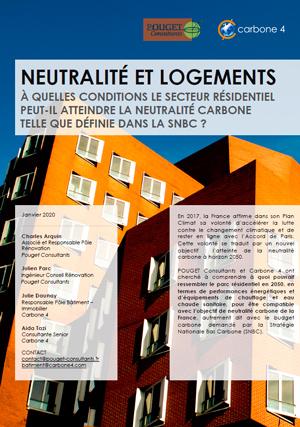 Document logements et neutralité carbone