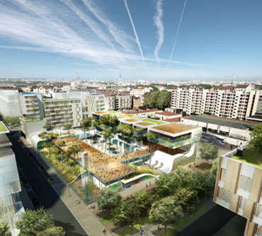 gradinage en architecture pour eco-quartier