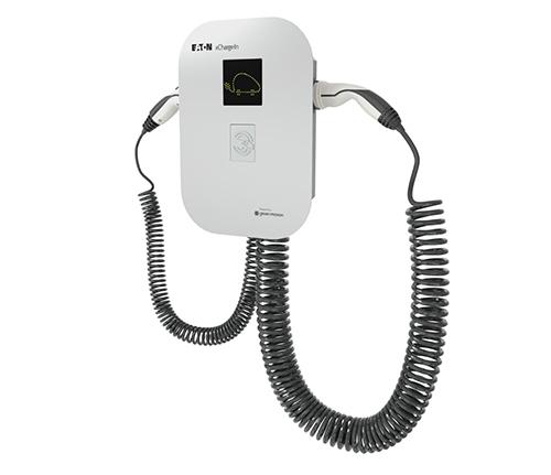 borne recharge véhicule électrique Eaton