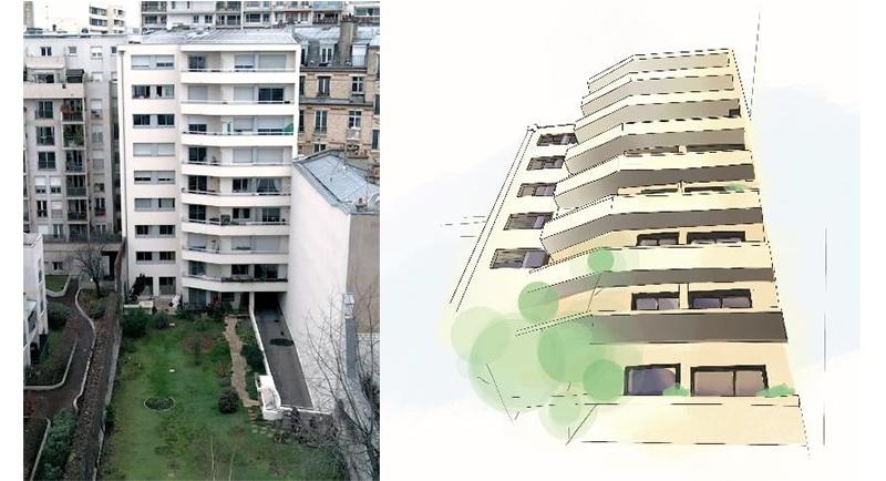 Paris copropriété jean jaurès